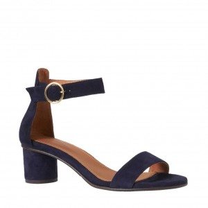selected-femme-suede-sandalette-dames-donkerblauw-5713730300863